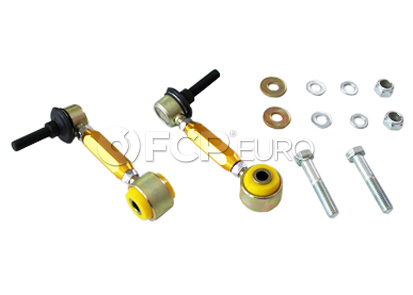 VW Audi Suspension Stabilizer Bar Link Rear - Whiteline KLC150