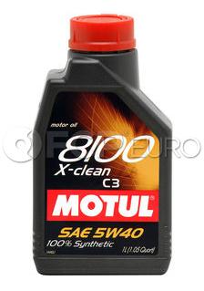 Motul 8100 X-Clean 5W40 (1 Liter) - 102786