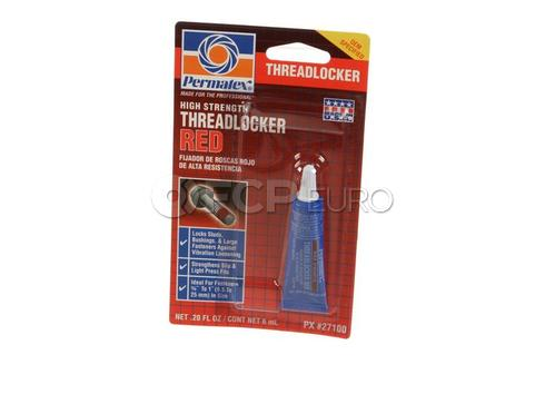 Permatex High Strength Threadlocker Red - Permatex 27100