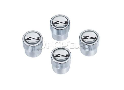 BMW Valve Stem Cap (Set of 4) - Genuine BMW 36110421545