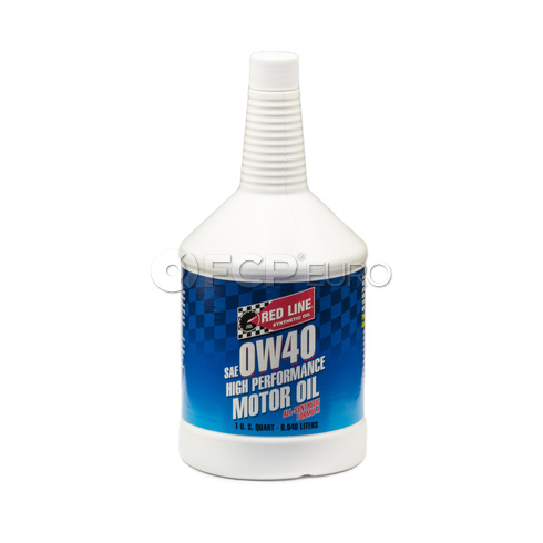 Red Line 0W40 Engine Oil (1 Quart) - 11104