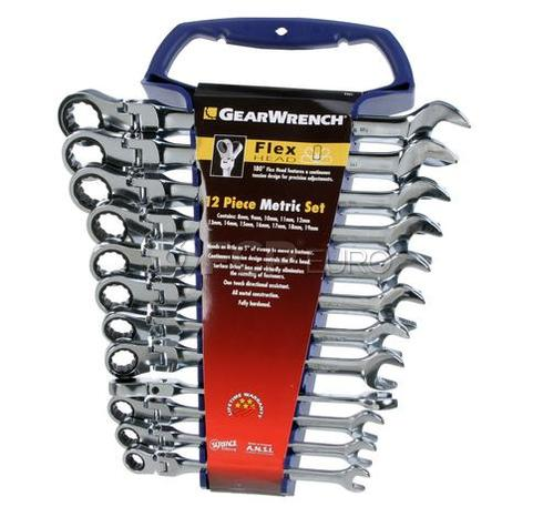 Ratcheting Metric Wrench Set Flex (12-Piece) - Gear Wrench GEAR-9901