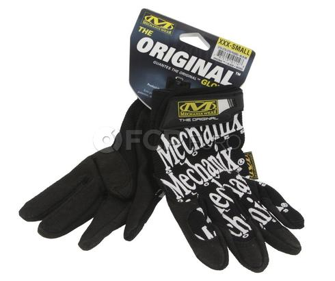 Mechanix Original Black Gloves (XXX Small) - MG-05-005