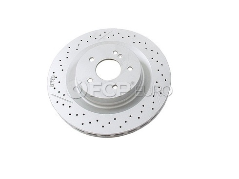 Mercedes Brake Disc Rear - Genuine Mercedes 1714230212OE