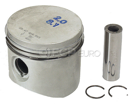 BMW Engine Piston w/Rings - Mahle 11251265951