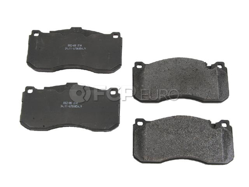BMW Disc Brake Pad Front - Jurid (OEM) 34116786044