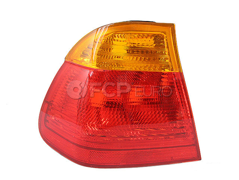 BMW Tail Light Rear Left Outer (E46) - TYC 63218364921