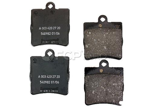 Mercedes Brake Pads Rear (C240 SLK300 C230 SLK280) - Genuine Mercedes 0034202720OE