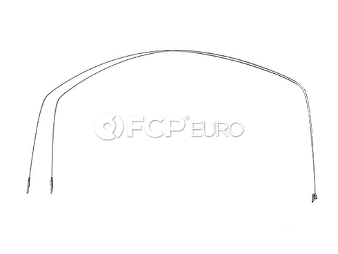 VW Heater Control Cable (Super Beetle) - Cofle 133711717B