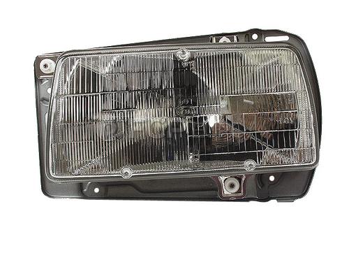 Volkswagen Headlight Assembly Left (Golf Jetta) Hella - 165941009B