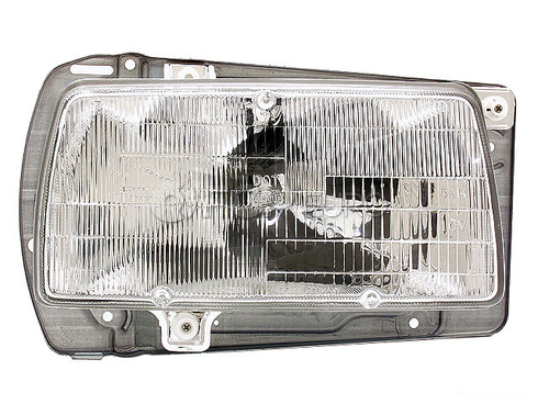 Volkswagen Headlight Assembly Right (Golf Jetta) Hella - 165941010A