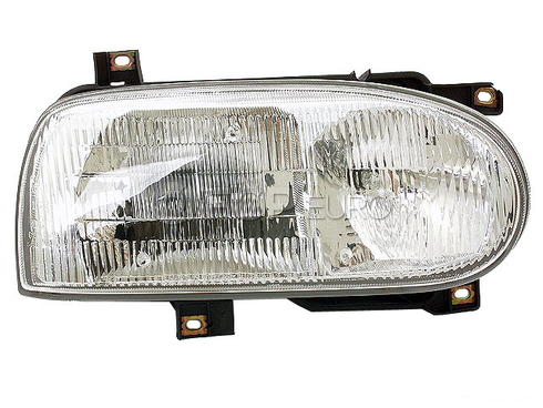 VW Headlight Assembly (Golf Cabrio) - Hella 1HM941018A