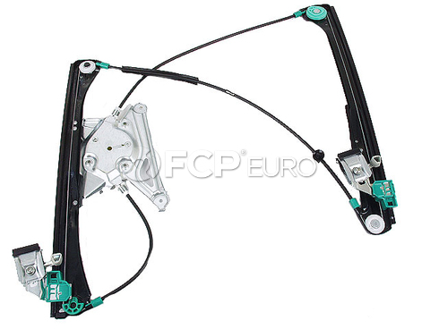 Audi Window Regulator W/O Motor Front Left (A4 A4 Quattro S4) - INA 8D0837461