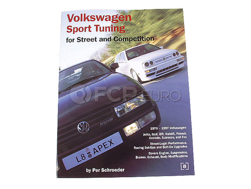 Volkswagen Sport Tuning for Street and Competition Bentley Manual - GVHW