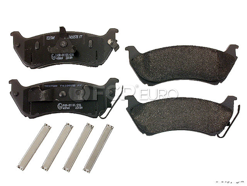 Mercedes Brake Pads Rear (ML320) - Textar D2004T