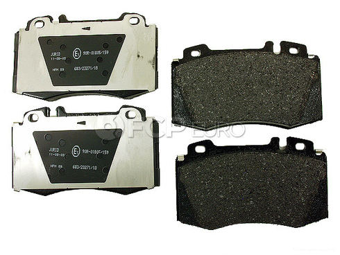 Mercedes Brake Pads Front - Jurid D2005J