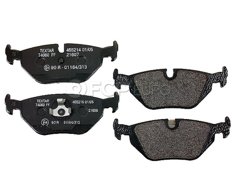 BMW Disc Brake Pad Rear - Textar D754T