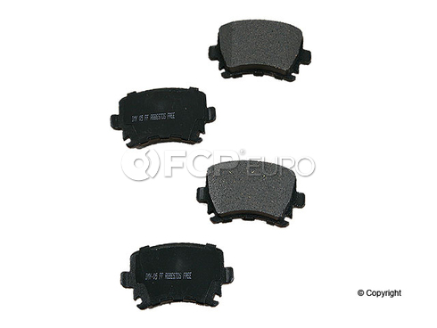 VW Audi Brake Pads Meyle Rear - D81108SC