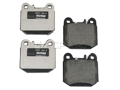 Mercedes Brake Pads Rear (ML430 ML500 ML55 AMG) - Textar D8874TF
