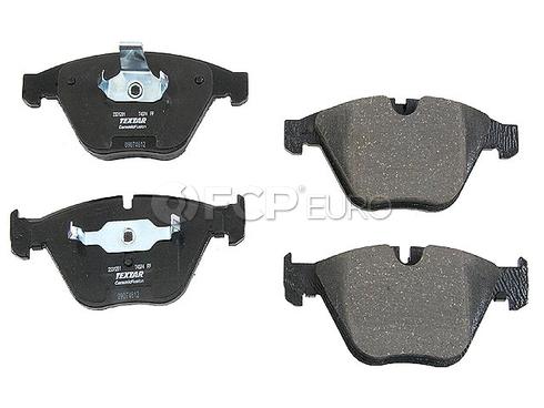 BMW Disc Brake Pad Front - Textar D8918TF
