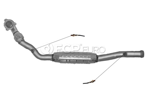 Volvo Catalytic Converter (850 S70 V70) - DEC VO3536
