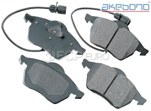 Audi Brake Pads Set Front (100 A6 A6 Quattro A8 A8 Quattro) - Akebono EUR555