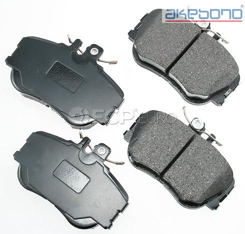 Mercedes Brake Pads Set Front (C220 C230 C280 W202) - Akebono EUR645