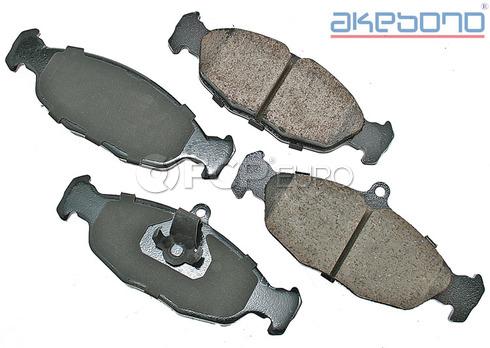 Jaguar Brake Pads Set Rear (XJ8 XJR XK8) - Akebono EUR688A