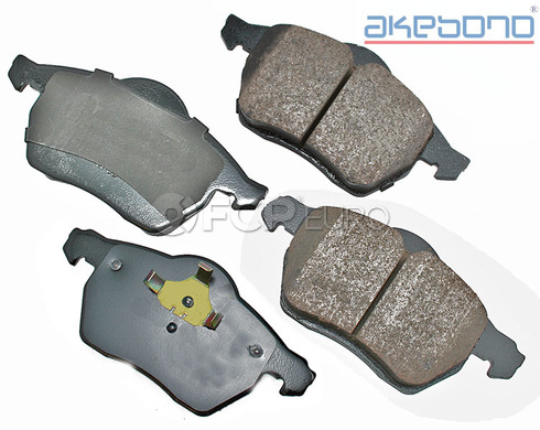 Saab Brake Pads Set Front (9-5) - Akebono EUR840A