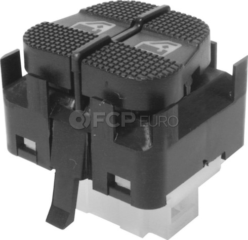 VW Window Switch Front Left (Cabrio Golf Jetta) - OE Supplier 1H095985501C
