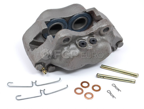 Volvo Brake Caliper Front Left (Solid Rotors) - Cardone Semi Loaded 19-631