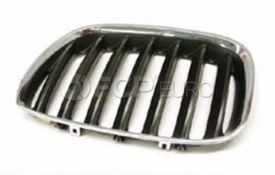 BMW Kidney Grille Left (X5) - Genuine BMW 51137113733