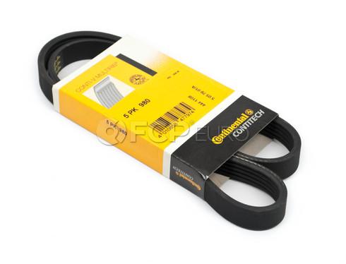 Multi Rib Serpentine Drive Belt - Continental 5PK980
