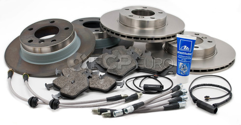 BMW Brake Kit w/Stainless Lines (E36) - Brembo/Bosch E36BK5
