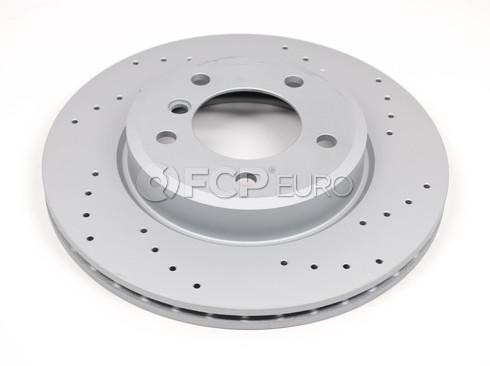 BMW Brake Disc Front (E46 Z3 Z4) - Zimmermann 34116855152
