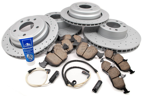 BMW Performance Brake Kit (E39 540i) - Akebono/Zimmermann E39540BK2