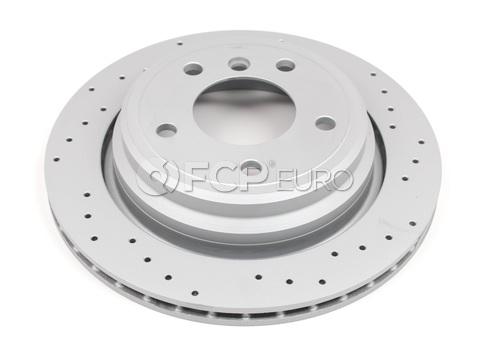 BMW Brake Disc Rear Cross Drilled - Zimmerman Sport 34216767060