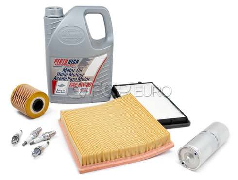 BMW Tune Up and Filters Kit with Oil (E36) - E36TUNEKIT2-Oil