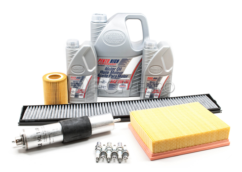 BMW Tune Up and Filters Kit with Oil (E46) - E46TUNEKIT2-Oil