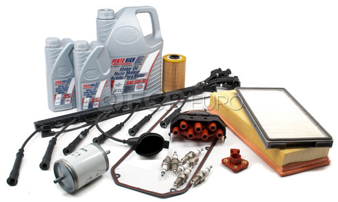 BMW Tune-Up Kit with Oil and Wires (535i) - E34TUNEKIT5-Full