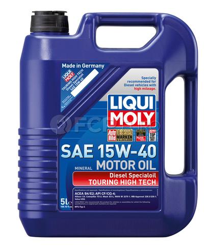 15W-40 Diesel Motor Oil (5 Liters) - Liqui Moly LM2044