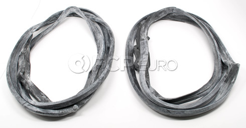 Mercedes Benz Door Seal Gasket Kit Rear (W126) - URO W126reardoorkit