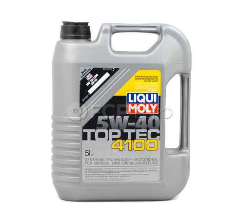 5W-40 Motor Oil Full-Synthetic (5 Liters) - Liqui Moly LM3701