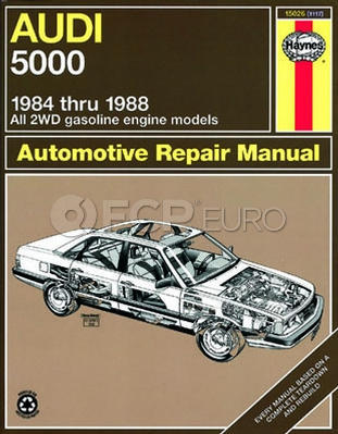 Audi Haynes Repair Manual (5000) - Haynes HAY-15026