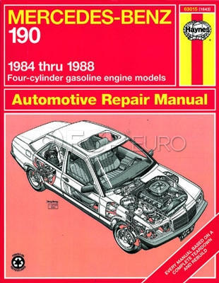 Mercedes Benz Haynes Repair Manual (190E) - Haynes HAY-63015