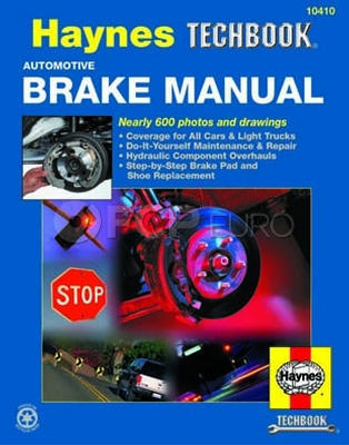 Haynes Repair Manual (Automotive Brake Manual) - Haynes HAY-10410