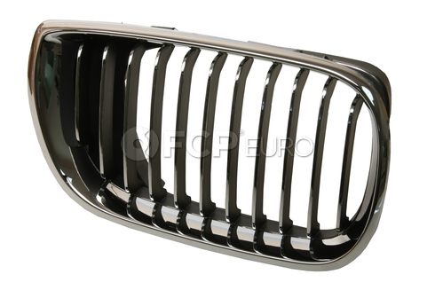 BMW Grille Assembly Chrome Right - Economy 51137042962