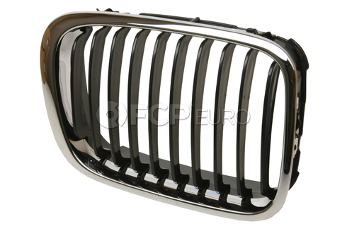 BMW Kidney Grille Right (Chrome) - EZ 51138208488