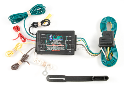 Toyota Acura Mazda Trailer Wire Converter (Tundra TL 6) - CURT-56146