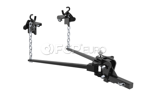 Long Trunnion Bar Weight Distribution Hitch (TW: 1,000 lbs) - CURT-17302